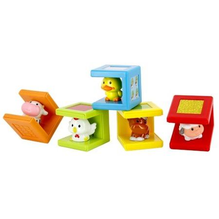Купить Набор из 5 кубиков Kidz Delight «Животные»
