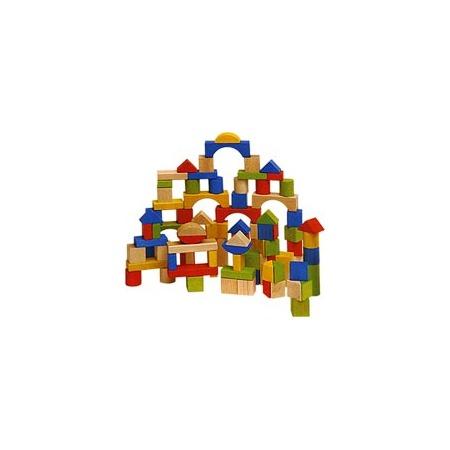 Купить Кубики деревянные, 100 штук