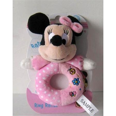 Купить Игрушка-погремушка мягкая Disney «Минни»