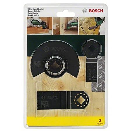 Купить Набор для многофункционального инструмента Bosch OMT по дереву