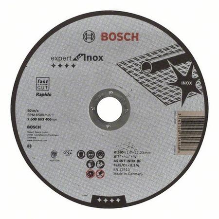 Купить Диск отрезной Bosch Expert for Inox Rapido