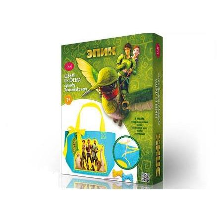 Купить Набор для шитья сумочки Делай с Мамой ЭПИК. Защитники леса