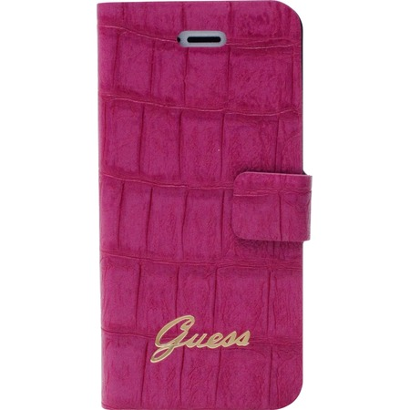 Чехол Guess Slim Folio Case Croco для iPhone 5