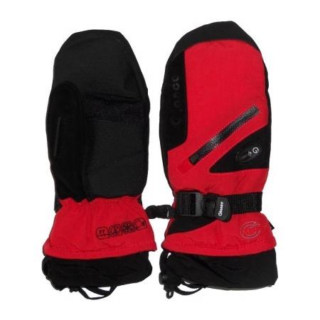 Купить Варежки GLANCE Fighter Mitten (2012-13). Цвет: красный, черный