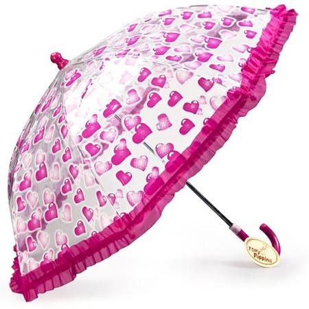 Купить Зонтик детский Mary Poppins «Сердечки»