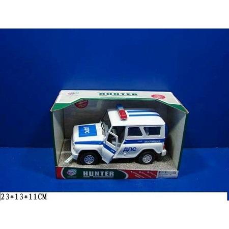 Купить Машина инерционная Joy Toy «УАЗ Hunter - ДПС» Р40511