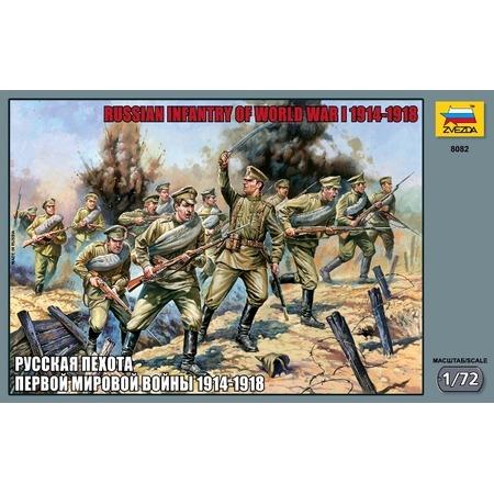 Купить Миниатюра Звезда Русская пехота Первой Мировой войны 1914-18 годы