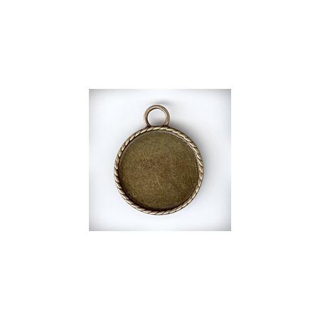 Купить Подвеска металлическая Ars Hobby «Рамка для кабашона круглая»