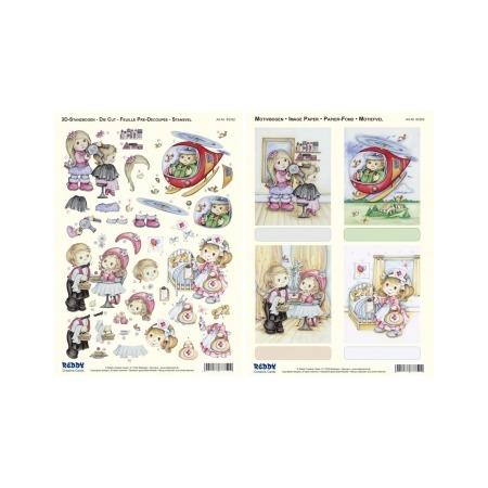Купить Аппликация вырубная для объемных рисунков Reddy Creative Cards «Учитель, Мясник, Музыкант»