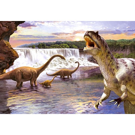 Купить Пазл 260 элементов Castorland «Динозавры 2»