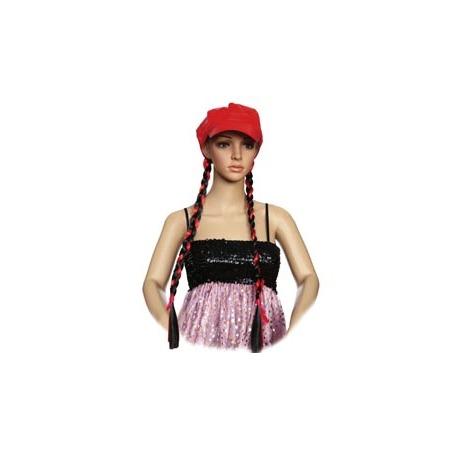 Купить Кепка женская Шампания «С косичками». В ассортименте