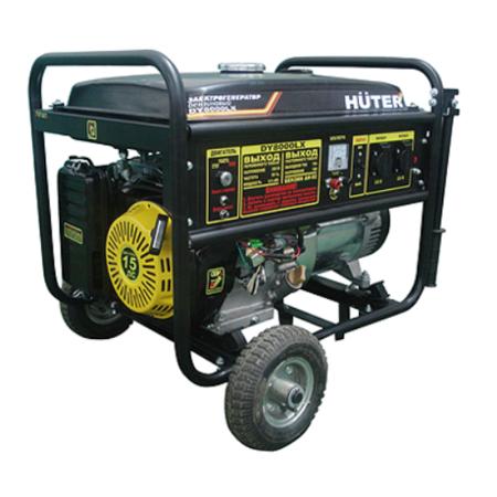 Купить Электрогенератор Huter DY8000LX-3