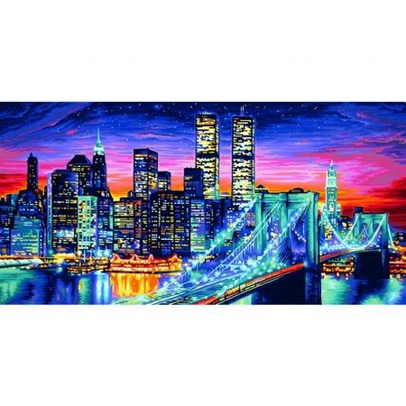 Купить Набор для рисования по номерам Schipper «Ночной Манхеттен»