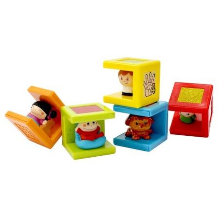 Купить Набор из 5 кубиков Kidz Delight «Семейка»