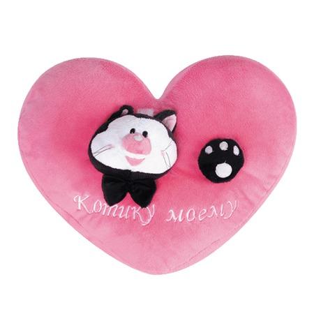 Купить Подушка-сердечко Gulliver «Котику моему»