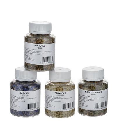 Купить Сухоцветы для мыла Мылофф Набор трав 1