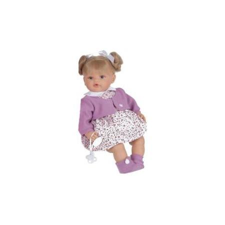Купить Кукла Munecas Antonio Juan «Дора в фиолетовом»