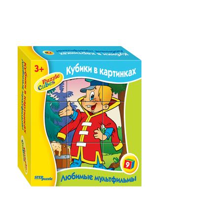 Купить Кубики развивающие Step Puzzle Любимые мультфильмы-5