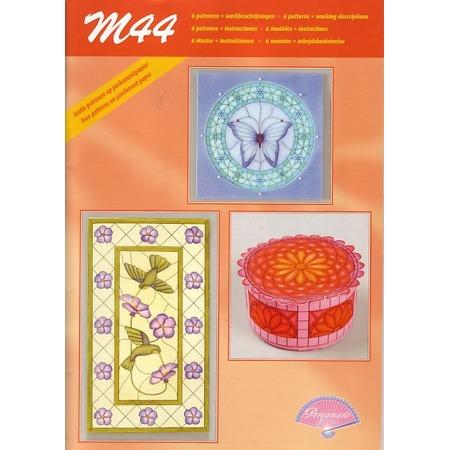 Купить Набор схем для парчмента Pergamano M44 Витражи