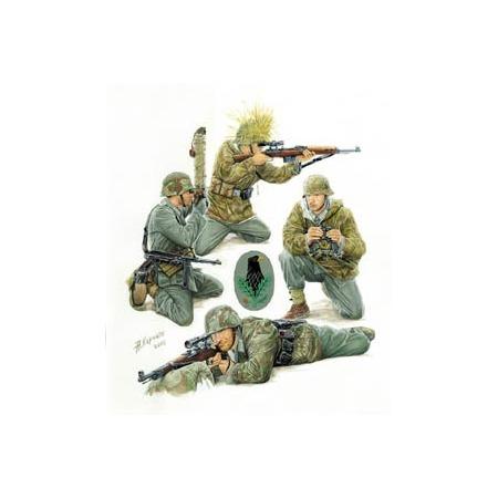 Купить Сборная модель Звезда Немецкие снайперы