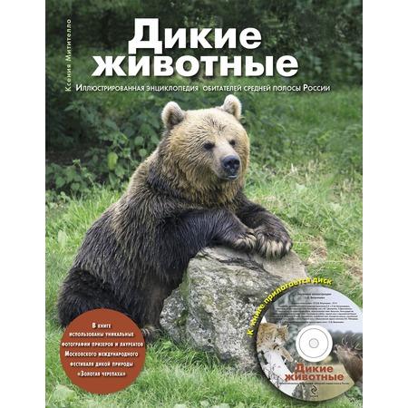 Купить Дикие животные. Иллюстрированная энциклопедия обитателей средней полосы России (+CD)