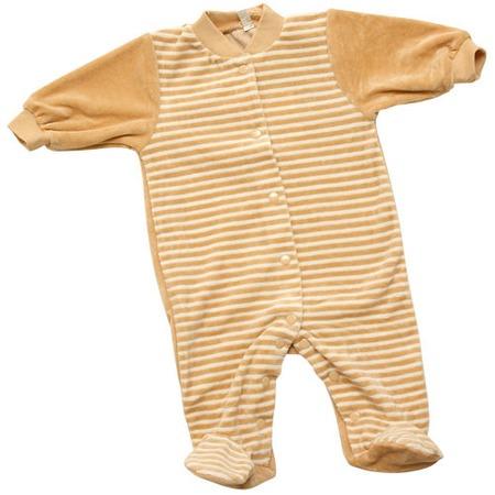 Купить Комбинезон с застежкой спереди IDEA KIDS «Весёлые полосатики». Цвет: бежевый