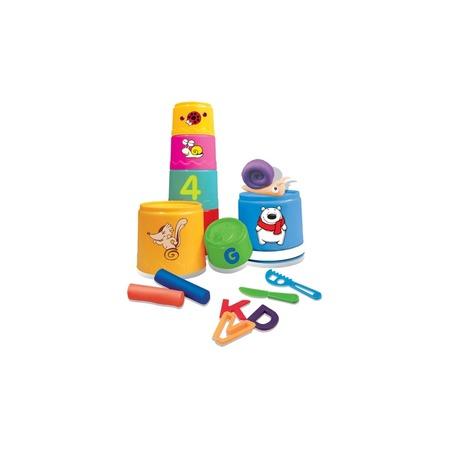 Купить Игрушка-пирамидка FUN FOR KIDS «Разноцветные стаканчики»