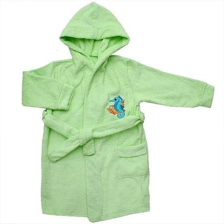 Купить Халат детский Мир 681Т87. Цвет: салатовый