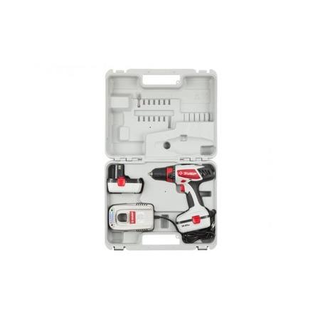 Купить Дрель-шуруповерт аккумуляторная Зубр ЗДА-14.4-2 КИН
