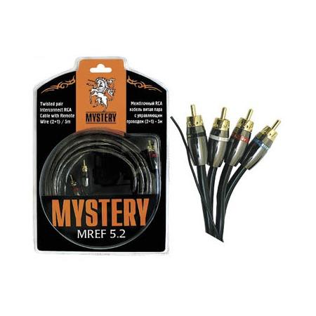 Купить Кабель rca межблочный Mystery MREF 5.2 двойной экран