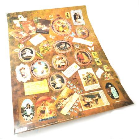 Купить Бумага для декупажа Finmark Decoupage «Дети и цветы»