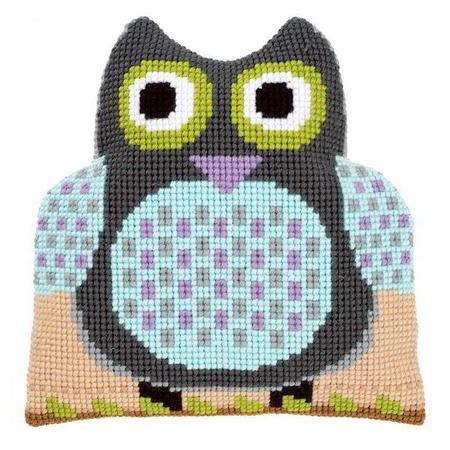 Купить Канва для вышивания подушки Vervaco «Сова»