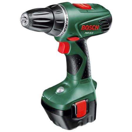 Купить Дрель-шуруповерт аккумуляторная Bosch PSR 12-2 (2 аккумулятора)