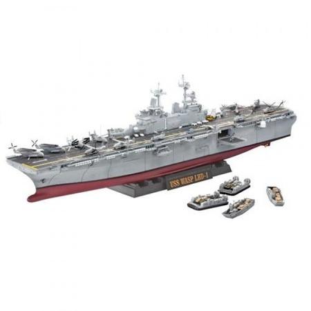Купить Сборная модель корабля Revell U.S.S. Wasp (LHD-1)