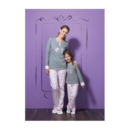 Купить Комплект домашний детский BlackSpade 5379. Цвет: серый