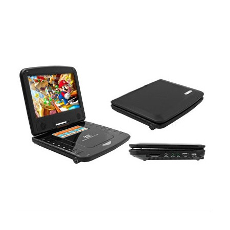 Купить DVD-плеер портативный мультиформатный с экраном Kreolz DVPS 902