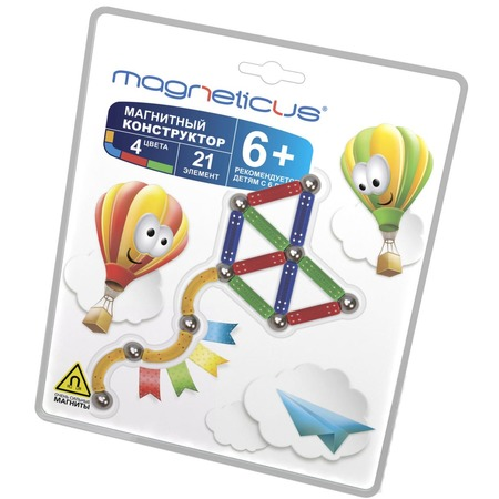 Купить Конструктор магнитный Magneticus МК-0021-1