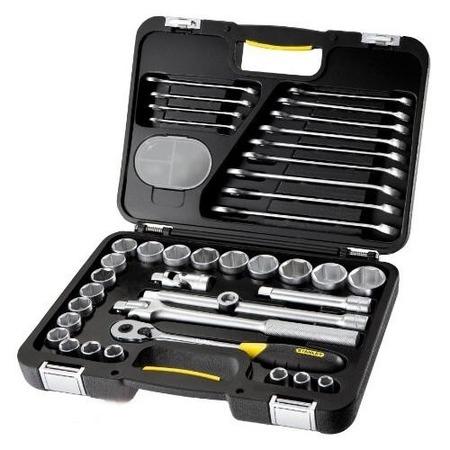 Купить Набор торцевых головок и комбинированных ключей STANLEY 1-99-056