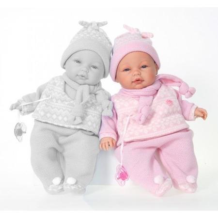 Купить Кукла Munecas Antonio Juan «Пио в розовом»