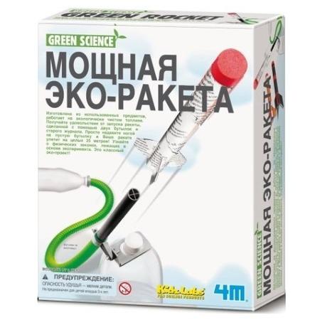 Купить Набор для изобретателей 4M «Мощная эко-ракета»