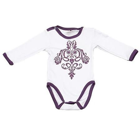 Купить Боди для новорожденных с длинным рукавом Ёмаё 24-316. Цвет: белый
