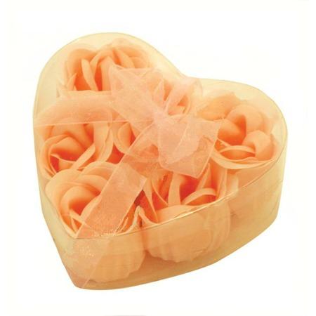 Купить Цветы мыльные Банные штучки «Розы в Сердце» 6 штук. В ассортименте