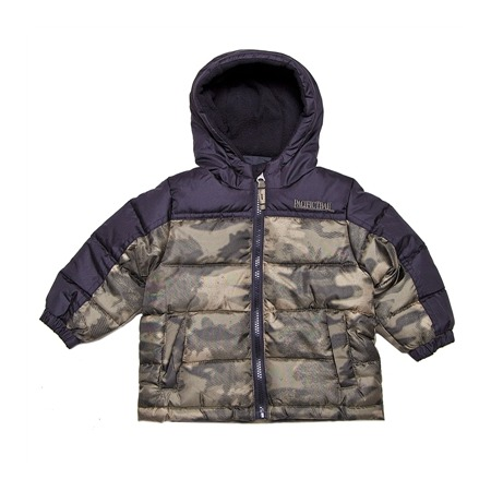 Купить Куртка утеплённая с капюшоном PacificTrail Камуфляж-olive
