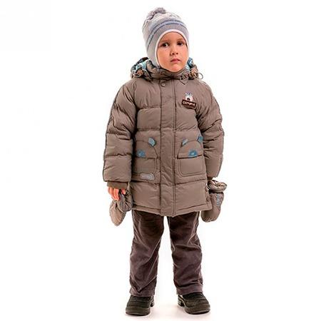 Купить Куртка детская для мальчика Sp-Show ЯВ115058. Цвет: серый