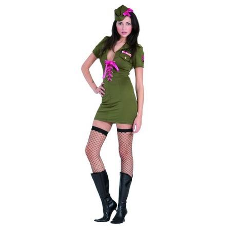 Купить Костюм карнавальный женский Шампания Армейская девушка