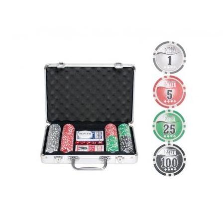 Купить Набор для покера Ningbo NUTS, 200 фишек