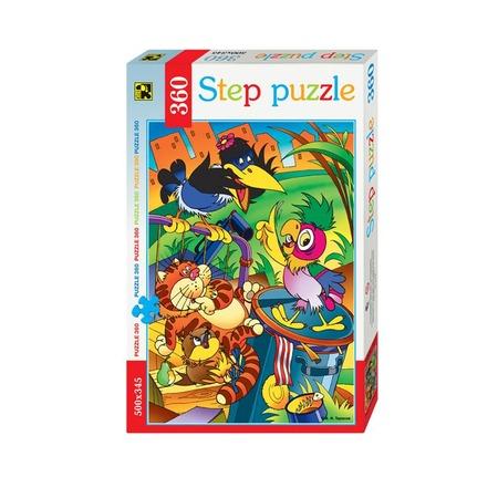 Купить Пазл 360 элементов Step Puzzle Попугай Кеша