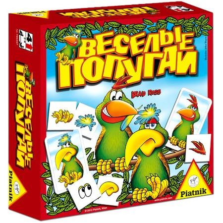 Купить Игра настольная Piatnik «Веселые попугаи»