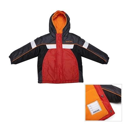 Купить Куртка демисезонная с капюшоном для мальчика PacificTrail Страйп-spice