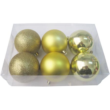 Купить Шары новогодние Irit «Золотая симфония»